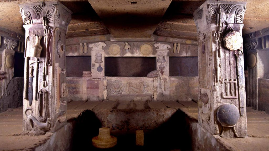 Tomba dei Rilievi Cerveteri